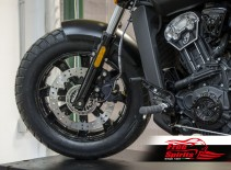 Disco freno flottante anteriore 298 mm per Indian Scout