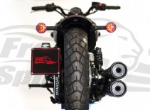 Portatarga laterale per Indian Scout - KIT