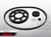 307585k free spirits triumph classic belt drive conversion kit (black)