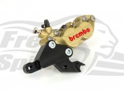 Front brake caliper 4 pot kit for Indian Scout