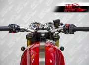 Kit conversione (Fat bar) per Triumph Thruxton R (Nero)