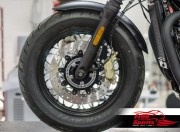 Bolt-in Kit freno anteriore per Triumph Thruxton 1200 Standard, Speedmaster e Bobber Black (dischi diam. 310 mm & pinze 4p.)