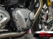 Kit tappi carter alternatore e frizione per Triumph New Classic (Silver)