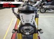 Dash board shield per Triumph Scrambler 1200