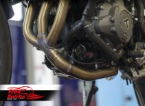 De-Cat Header for Triumph Tiger 900