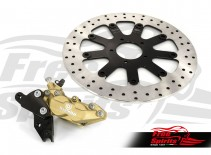 Bolt-in Upgrade braking kit for Indian Scout (4p. caliper & rotor diam. 320 mm) - KIT
