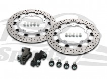 Harley Davidson Touring 2014 up - Brake rotors kit (320 mm) & pads - KIT