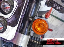 Front indicator light bracket for Harley Davidson & Triumph