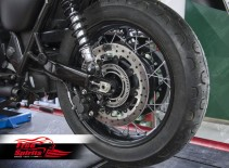 Triumph Street Scrambler & Bonneville T100/T120 Upgrade Floating rear Brake Rotor kit