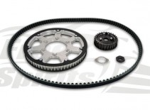 Belt drive conversion for Triumph Street Twin/Cup/Scrambler & Bonneville T100 2018 up - KIT