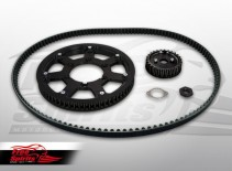 Belt drive conversion for Triumph Street Twin & Street Cup until VIN 857912 - KIT