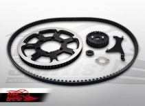 Belt drive conversion for Triumph Thruxton 1200 - KIT