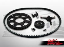 Belt drive conversion for Triumph Bobber & Speedmaster 1200 - KIT