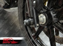 Axle Protector / Sliders front for Triumph Classic