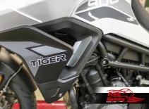 Air deflectors for Triumph Tiger 900
