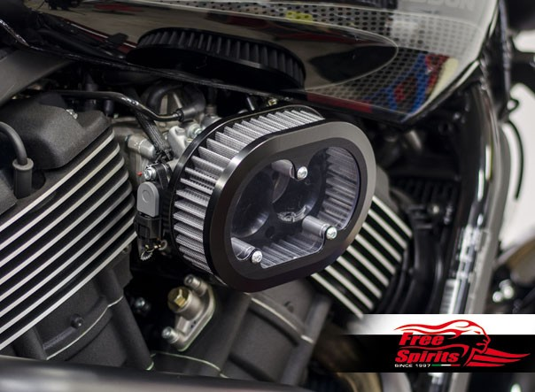 Aircleaner High Flow kit for Harley Davidson XG 750A Street Rod (Water repellent)