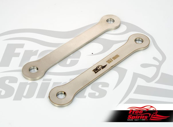 Rear suspension lowering kit (-10 mm) for Triumph Tiger 800