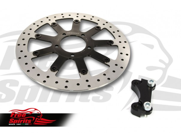 Triumph Street Twin & Street Scrambler 2019 up - Upgrade front brake rotor kit (340 mm) & pads