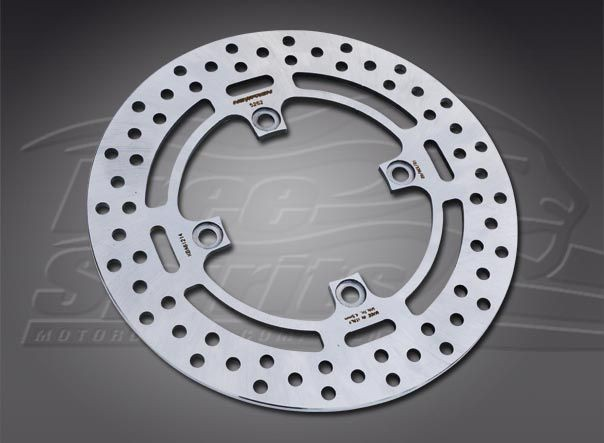 Rear brake rotor diam 254 mm for Triumph