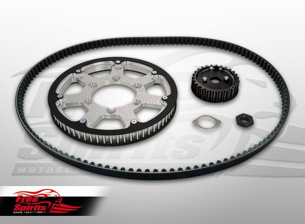 Belt drive conversion for Triumph Street Twin, Street Cup & Bonneville T100