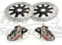 Bolt-in Upgrade braking kit for Harley Davidson XG Street Rod (4p. calipers & rotors diam. 320 mm)
