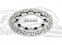Harley Davidson Touring 2014 up OEM replacement front brake rotor 300mm & pads - KIT