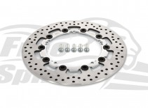 Harley Davidson Dyna & V-Rod 06 up and Touring 2008-09 OEM replacement front brake rotor 300mm & pads - KIT