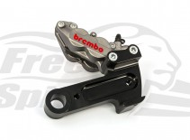 Brembo 4 pot rear bracket for Harley Davidson XG Street 2016 up - KIT