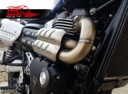 H-Pipe (de-cat) for Triumph Scrambler 1200