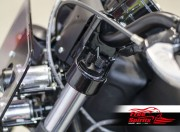 Air tech fork preload caps for Indian Scout