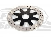 Indian Scout - Rear brake rotor 298mm & pads