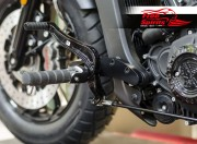 Extended forward controls adaptors plates (100mm) for Indian Scout