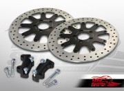 Brake rotors kit (320 mm) for Harley Davidson Touring 2000-2007