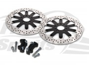 Harley Davidson 2000-2007 Brake rotors kit (320 mm) & pads