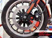Brake rotors kit (320 mm) for Harley Davidson Sportster