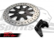 Harley Davidson Sportster 2014 up - Brake rotor kit (320 mm) & pads