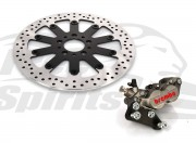 "Harley Davidson Sportster with 21"" Wheel - Bolt-in kit with 4p. caliper & rotor 320 mm - KIT"