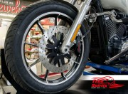 Harley Davidson Softail 2015 up - Bolt-in kit with 4p. (Black) caliper & rotor 320 mm