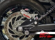 Rear brake caliper 4 pot kit for Indian Scout - KIT