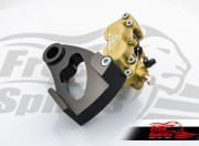 Brembo 4 pot rear bracket for Harley Davidson Street