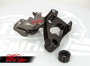 Brembo 4 pot rear bracket for Harley Davidson Street (titanium)