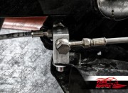Brake tee adapter rear for Harley Davidson Dyna