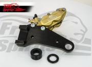 "Rear brake caliper 4 pot kit for Harley Davidson Sportster (Rotor diam. 11""1/2)"