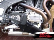 Pulley Cover for Buell XB 2008 up (Black)