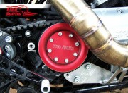 Pulley Cover Harley Davidson Sportster & XR1200 (Red)