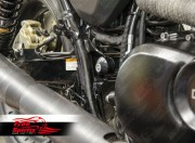 Harley Davidson Street swingarm axles and caps kit