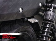 License plate bracket for Harley Davidson Street