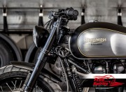 Yokes Triumph Classic for Speed Triple 1050 USD fork (Black)