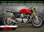 Lowering Triple Trees for Triumph Thruxton R
