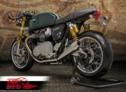 Lowering Triple Trees (Black) for Triumph Thruxton R
